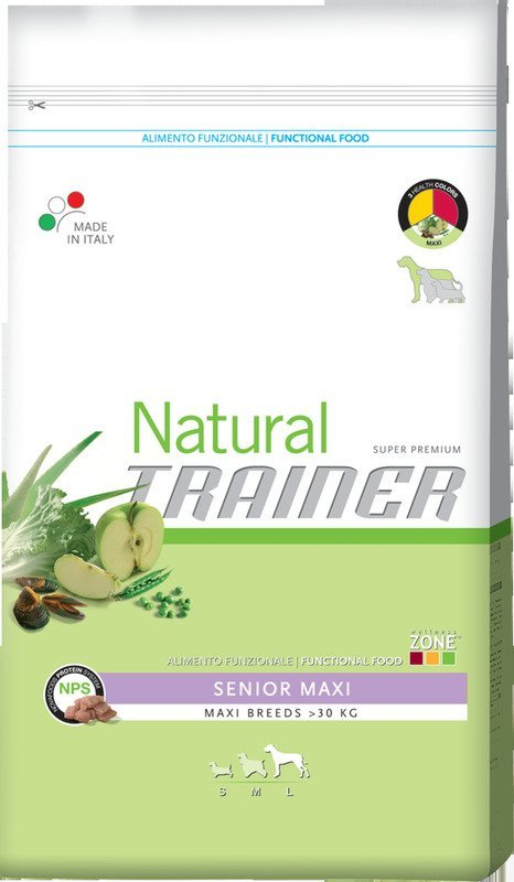 Сухой корм Trainer Natural Senior Maxi для стареющих собак крупных пород старше 6 лет